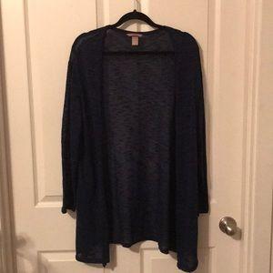 Navy blue cardigan